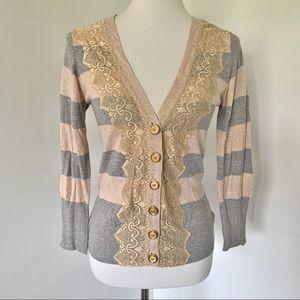 Anthropologie Charlotte Tarantola Cardigan Sweater